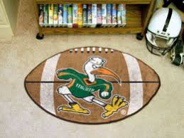 College Rug Miami Hurricanes Rugs College Rug Nylon Doormat Sports Mats