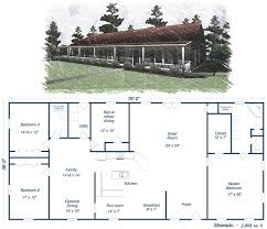 Cool Metal Building Home Floor Plans With Metal House Kit Steel Metal Home Designs