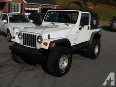 jeep wrangler tj rubicon for sale 2015 white jeep wrangler rubicon http iseecars com used