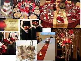 Black Gold Wedding Decorations Ivory And Red Wedding Theme Tbrb Info