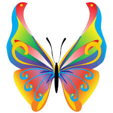 free butterfly clip floral butterfly free vector graphic