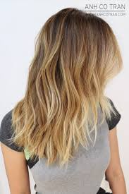 does hair look like ombre when highlights growing out i like this bc it s like an ombre but it s still blended quite