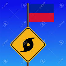 Haitian Flag Meaning Hurricane Flag Symbol