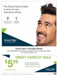haircut specials at great clips great clips hton roads home facebook
