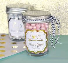 jar favors mini jar favors with personalized foil sticker labels