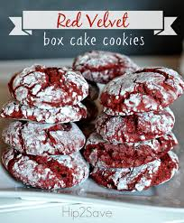 red velvet box cake cookies recipe red velvet cookie recipe red