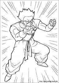 printable dragon ball coloring pages 38854
