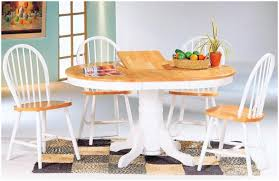 White Country Kitchen by Kitchen Table With White Legs Farmhouse Kitchen Table With Bench