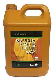 diversey bourne traffic liquid wax 5 litre