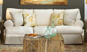 Slipcovered Sectional Sofa by Sofas Center Beige Slipcovereda Sleeper Bench Seat Styleas And