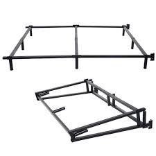 queen metal bed frame center support home design ideas