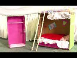 How To Make Doll BunkBeds YouTube - Dolls bunk bed
