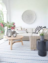 Modern Outdoor Rug Favorite Outdoor Rugs Pillows This Season Zdesign At Home