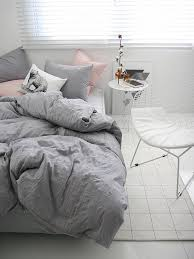 Gray Down Comforter Soft Grey Comforter Set Queen Size Also Available In Pink A