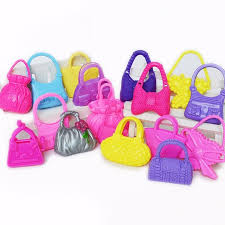 aliexpress buy new arrival 10pcs wholesale fashion aliexpress buy 10 pcs mix styles doll bags accessories