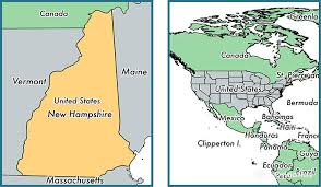 map usa new hshire where is new hshire state where is new hshire located in