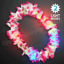 hawaiian leis assorted led hawaiian leis at flashingblinkylights