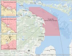 Florida Shipwrecks Map Thunder Bay National Marine Sanctuary About Us