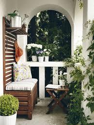 bank balkon wissen kahle wände geschickt kaschieren bild 7 schöner wohnen