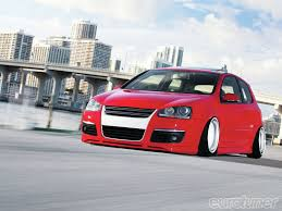 red volkswagen jetta 2009 2009 vw gti drinking the kool aid eurotuner magazine