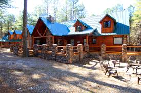 Large Log Cabin Floor Plans Beavers Bend Adventures Mountain Creek Lodge