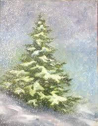 kathi mann painting class snowy tree minnesota s s more capital