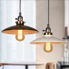 Retro Pendant Lights Pot Lids Metal Shade Ceiling Vintage Retro Pendant Lamp Light