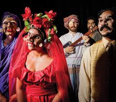unmasking theatre indian ink and its of emotions crosses