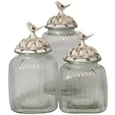 glass kitchen canisters glass kitchen canisters for less overstock com