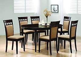 Oval Dining Tables And Chairs Oval Dining Room Wood Table Chair Set Kitchen Chairs