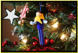 cub scout clothespin doll ornaments