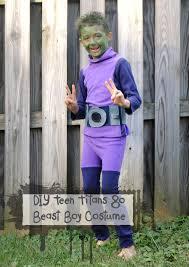 Teenage Male Halloween Costumes Teen Titans Diy Beast Boy Costume Beatnik Kids