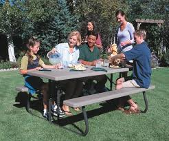 lifetime 22119 lifetime 6 u0027 folding picnic table on sale free