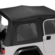 jeep soft top white pavement ends 51148 35 black diamond replay fabric only soft