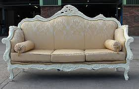 Shabby Chic Sofa Bed by White Shabby Chic Rococo Style Collection On Ebay