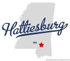 map of hattiesburg ms map of hattiesburg ms mississippi