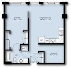 1 Bedroom Apartments Seattle by The Nolo At Stadium Place Apartments In Pioneer Square Urbanash