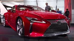 images of lexus lc 500 2018 lexus lc 500 2016 detroit auto show youtube
