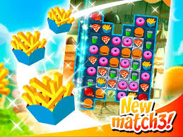 match 3 super burgers hd swap and connect android apps