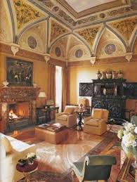 Sitting Room Styles - the style of this living room is of a renaissance style which is