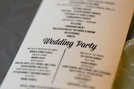 Custom Wedding Programs Rachel Dustin Beaver Creek Lodge Wedding