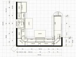 Kitchen Floor Plan Kitchen Beautiful U Shaped Kitchen Floor Plans Ushaped Kitchen