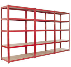 basement perfect free standing red wooden multiple shelves in adorable basement decorating interior with ikea garage shelving design ideas perfect free standing red wooden
