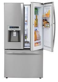 Stainless Steel Refrigerator French Door Bottom Freezer - kenmore elite 72063 31 cu ft grab n go french door bottom