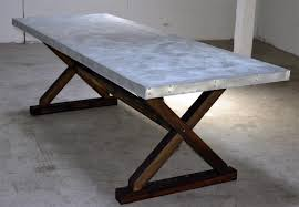 Cedar Patio Furniture Sets - buy a hand crafted zinc trestle table made to order from