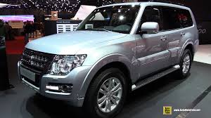 mitsubishi uae 2015 mitsubishi pajero exterior and interior walkaround 2015