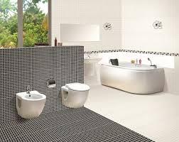 mosaic bathroom tiles ideas floor tiles bathroom the black tiles as a suitable viewing