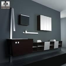 Bathroom Furniture Set Bathroom Furniture 05 Set 3d Model Hum3d