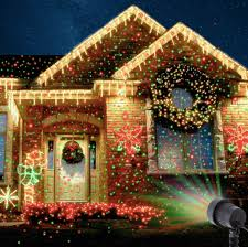 christmas light laser laser projector light