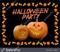 halloween party background illustration of halloween party invitation